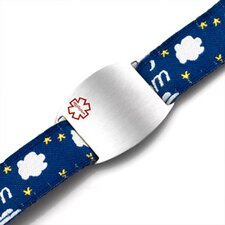 Children's Dream Sport Strap Bracelet with Medical ID Tag