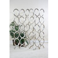 "<strong>Ultimate Accents</strong> 72.75"" x 76.75"" Contempo 3 Panel Room Divider"