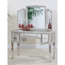<strong>Ultimate Accents</strong> Manhattan Vanity with Mirror