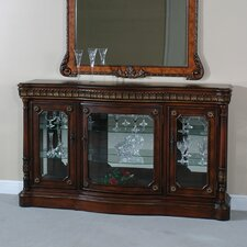 <strong>Ultimate Accents</strong> Classica Curio Console Buffet