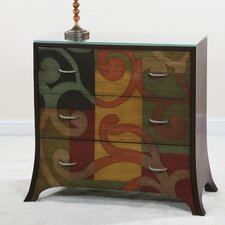 Contempo 3 Drawer Chest