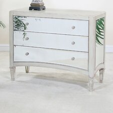 <strong>Ultimate Accents</strong> Manhattan 3 Drawer Chest