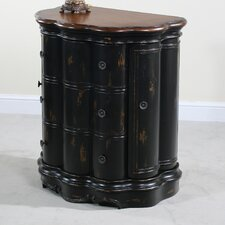 Seville 3 Drawer Scalloped Chest