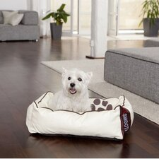 "Hundebett ""Dogbed Leather"" in Beige"