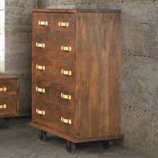 Oaktown 6 Drawer Chest