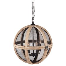 Magma 5 Light Globe Pendant