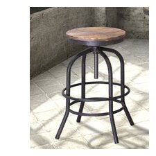 "Twin Peaks 30.3"" Counter Height Swivel Bar Stool"