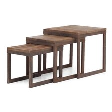 Civic Center Nesting End Tables