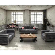 Lasso Denim Living Room Collection