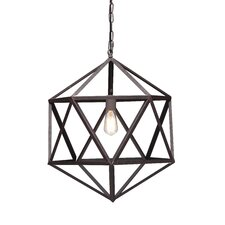 Amethyst 1 Light Ceiling Lamp