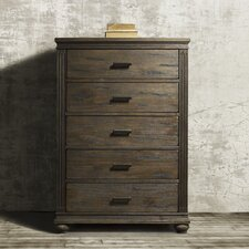 The City 5 Drawer Chest