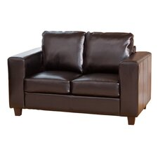 Compact Style Bonded Leather 2 Seater Sofa