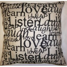Love, Listen, Laugh Cushion