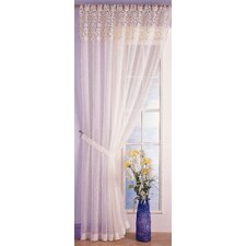 Marion Voile Tab Top Single Panel Curtain
