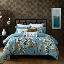 Sakura 1 Piece King Comforter Mini Set