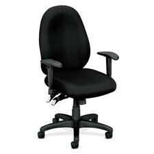<strong>Basyx by HON</strong> High Performance Mid-Back Fabric Task Chair