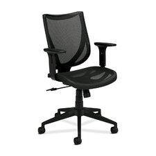 <strong>Basyx by HON</strong> Mid-Back Mesh Managerial Chair