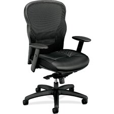 <strong>Basyx by HON</strong> VL700 Series High-back Mesh Executive Chair with Arms