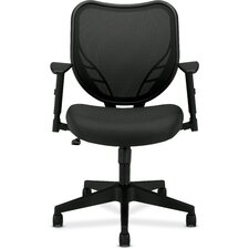 <strong>Basyx by HON</strong> Midback Mesh Back Chair with  Arms