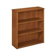 BW Veneer Three Shelf Bookcase