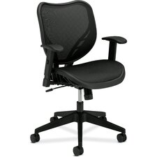 <strong>Basyx by HON</strong> Mid-Back Mesh Chair