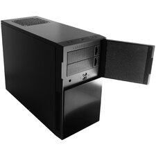 Nanoxia Deep Silence 4 Mini Tower Case Fits Micro-ATX Motherboard