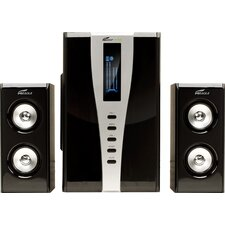 2.1 Soundstage Speaker System with Subwoofer and Remote