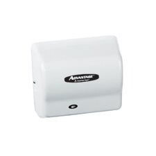 Advantage Standard 100 - 240 Volt Hand Dryer in White