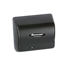 Advantage Standard 100 - 240 Volt Hand Dryer in Black