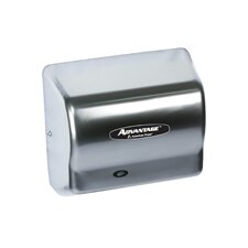 Advantage Standard 100 - 240 Volt Hand Dryer in Stainless Steel