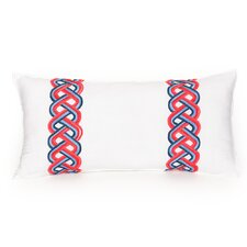 Coastline Ikat Decorative Lumbar Pillow