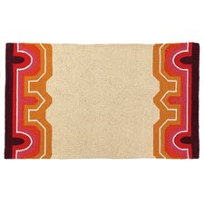 Brawley Pink Hook Rug
