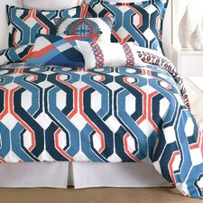 Coastline Ikat Duvet Cover Collection