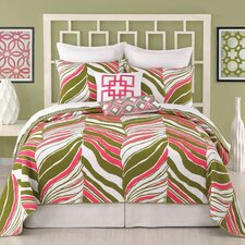 <strong>Trina Turk Residential</strong> Tiger Leaf Coverlet Collection