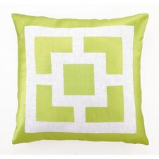 Palm Springs Blocks Pillow