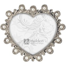 <strong>Malden</strong> Pomona Heart with Jewels Picture Frame