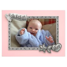 Its A Girl Borderline Picture Frame