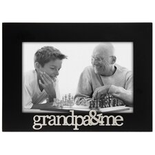 Expressions Grandpa and Me Picture Frame