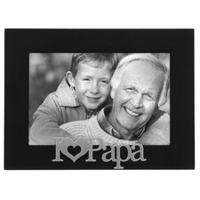 I Love Papa Expressions Picture Frame