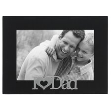 Expressions I Love Dad Picture Frame