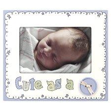 CuteAs A Button Picture Frame