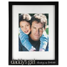 <strong>Malden</strong> Daddy's Girl Always and Forever Picture Frame