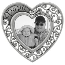 <strong>Malden</strong> Papa Heart Picture Frame
