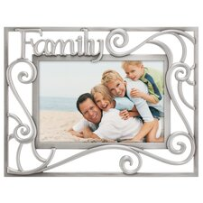 Family Pierced Picture Frame