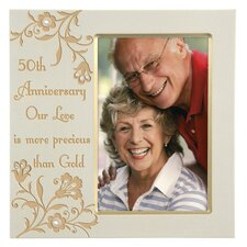 50th Anniversary Picture Frame