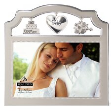 I Do Wedding Charms Picture Frame