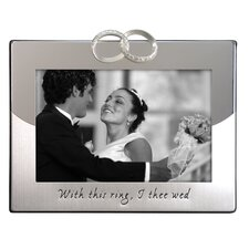 <strong>Malden</strong> Wedding Rings Picture Frame