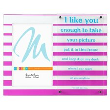 <strong>Malden</strong> I Like You..Dimensions Picture Frame