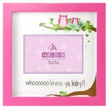 Whoo Loves Ya Baby Picture Frame