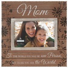 Mom Sunwashed Picture Frame